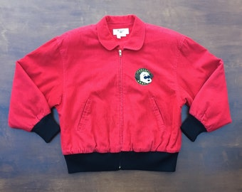 Very cool 80s Joe Ho cord bomber