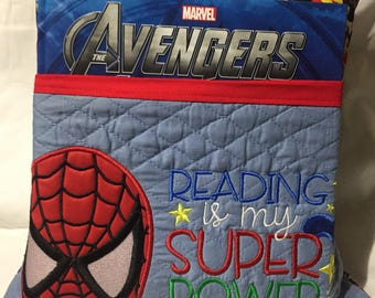 Web Hero Reading Pillow