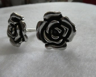 Rose Cuff Links