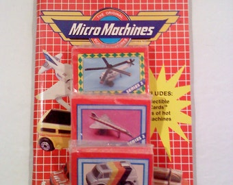 Trading Cards- Micro Machines Micro Cards Kit, Series Two