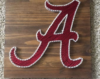 Alabama String Art