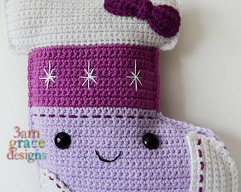 Stocking Kawaii Cuddler™ Crochet Pattern