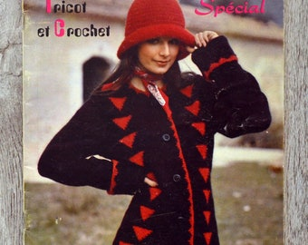 Knit stylish magazine for you 140 - knitting and crochet (Vintage)
