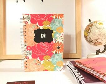 Handmade Customizable Spiral Bound Address Book