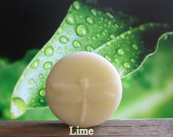 Lime Organic Solid Lotion Bar Pocket Size