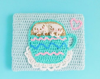 Cappuccino Lovers Crochet Painting