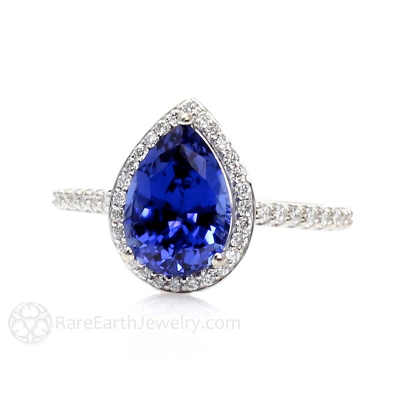 Natural Blue Sapphire Gold Ring