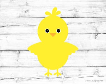 easter chick svg chick silhouette svg baby chicken svg easter svg girl svg cutfile easter kids - Easter Chick