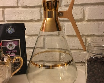 22 CT Gold Coffee Carafe