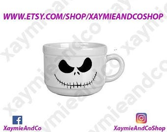 Jack Skellington 22 oz ceramic mug