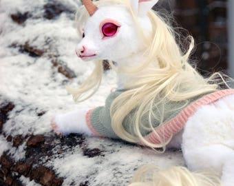 Winter Flower Unicorn