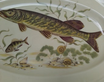 JKW Western Germany Large Fish Platter