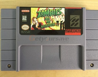 Zombies Ate My Neighbor for Super Nintendo SNES