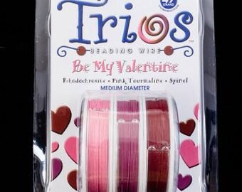 "Soft Flex Trios- ""Be My Valentine"" Medium"