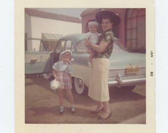 Vintage Snapshot Photo: September, 1959 (710615)