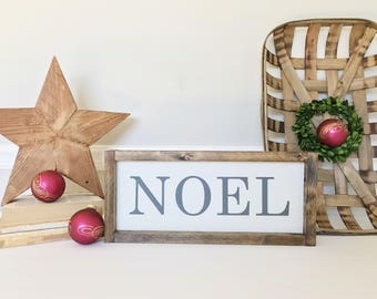 Noel Sign, Christmas Decor, Holiday Sign, Rustic Christmas, Christmas Gift, Gift for Mom, Religious Christmas, READY TO SHIP