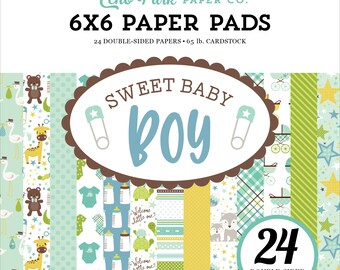 Sweet Baby Boy 6x6 Paper Pad