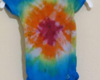 Tie Dye Onesie, Rainbow Onesie, Infant Onesie, Infant Bodysuit, Tye Dye Bodysuit, Tie Dye Infant Bodysuit, Onesie