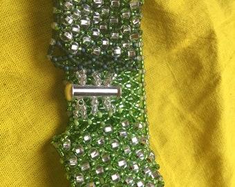 New Handmade Netted Bracelet