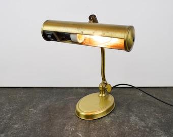 Vintage brass desklamp, Pfäffle
