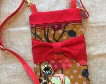 Golden Poppies Small Cross-body Bag