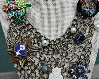 OOAK MASSIVE RUNWAY necklace