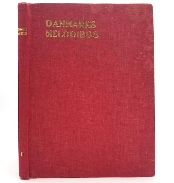 Danmarks Melodibog Bd. II 1960 Hardcover HC Danish Language Music Songbook