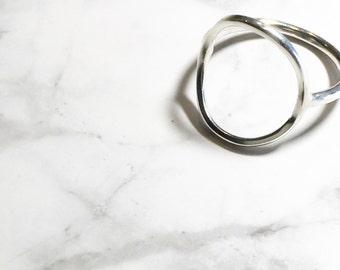 Statement Eclipse Circle Ring
