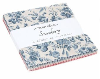 Snowberry Charm Pack by 3 Sisters for Moda
