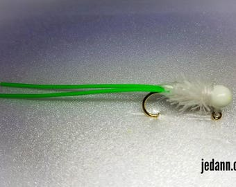 Size 8-1/32oz Super UV Glow Fishing Jig