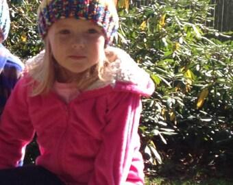 Child's Flower Hat
