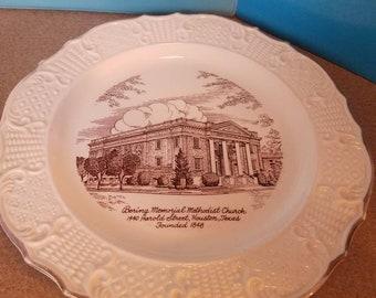 Bering Memorial Methodist Church Plate