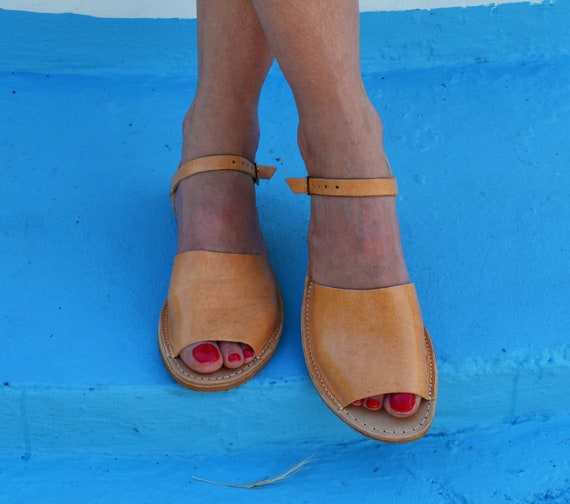 sandals sandals sandals Greek Strappy Ankle ''Artemis'' strap sandals Greek leather Ancient sandals Genuine flats Leather wqX8Ct1R
