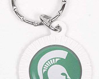 Michigan State Spartans Keychain & Keyring - Circle