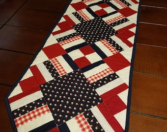 4th of July, Independence Day Tablerunner