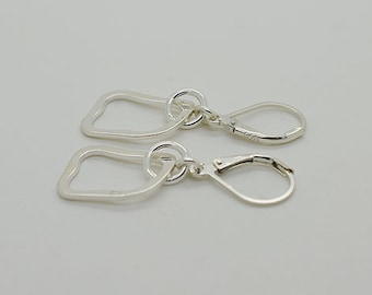 Sterling Silver Lever Back Earrings 56
