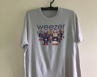 Weezer shirt band