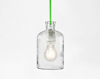 Neon Green Pendant Lamp
