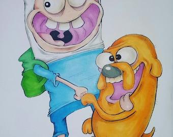 Adventure time dooodle