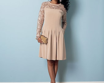 Butterick Pattern B6281 Misses'/Misses' Petite Dress