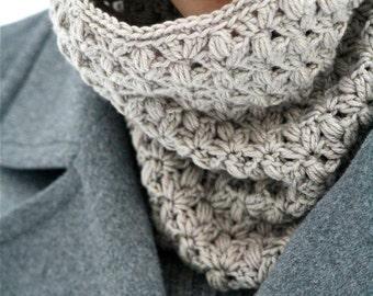 """PDF PATTERN Crochet Cowl """"Heather"""""""