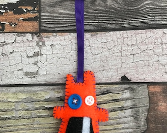 Colin Cold Eyes - Monster Key Chain