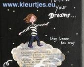 Mini Canvas: Follow Your ...