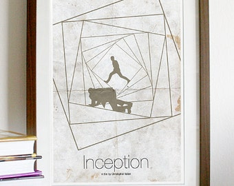 Inception Movie Poster Print