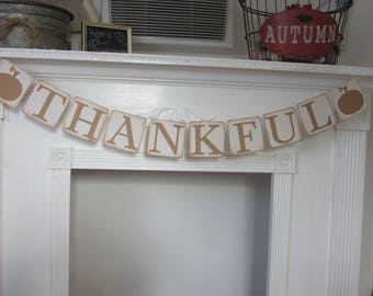 Thanksgiving Fall Thankful Banner