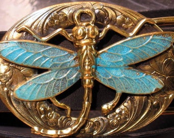 Dragonfly Belt Buckles
