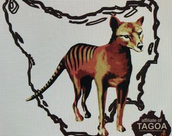 Thylacine T-Shirt - Kids - Round Neck