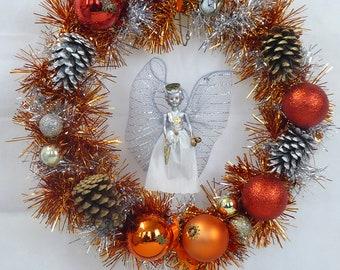 Steampunk Angel Wreath