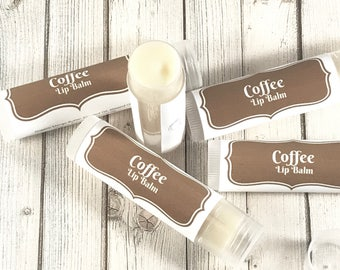 Coffee Lip Balm | Lip Gloss | Java Lip Balm | Beeswax Lip Balm | Organic Lip Balm | Coffee Lip Butter | Coffee Chapstick | | birthday gift