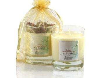 Orange, Cedarwood & Clove - Beautiful Hand Poured Natural Soya Wax Candles